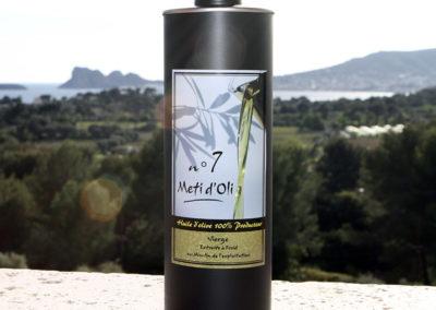 Meti d'Oli N°7 - 1 Litre - bouteille en métal