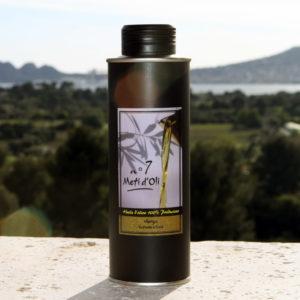 Meti d'Oli N°7 - 25cl - bouteille en métal