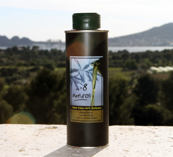 Meti d'Oli N°8 - 25cl - bouteille en métal