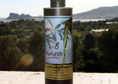 Meti d'Oli N°8 - 50cl - bouteille en métal