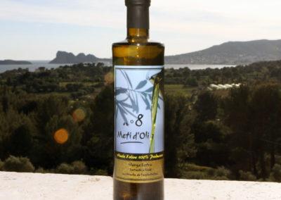 Meti d'Oli N°8 - 50cl - bouteille en verre