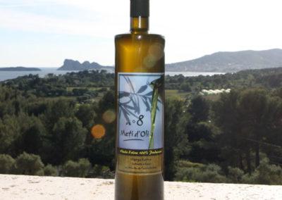 Meti d'Oli N°8 - 75cl - bouteille en verre