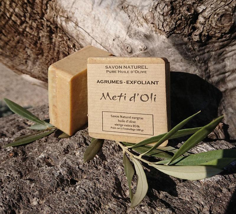 savon agrumes exfoliant