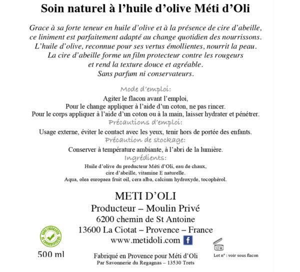 Liminent - Soin naturel à l'huile d'olive