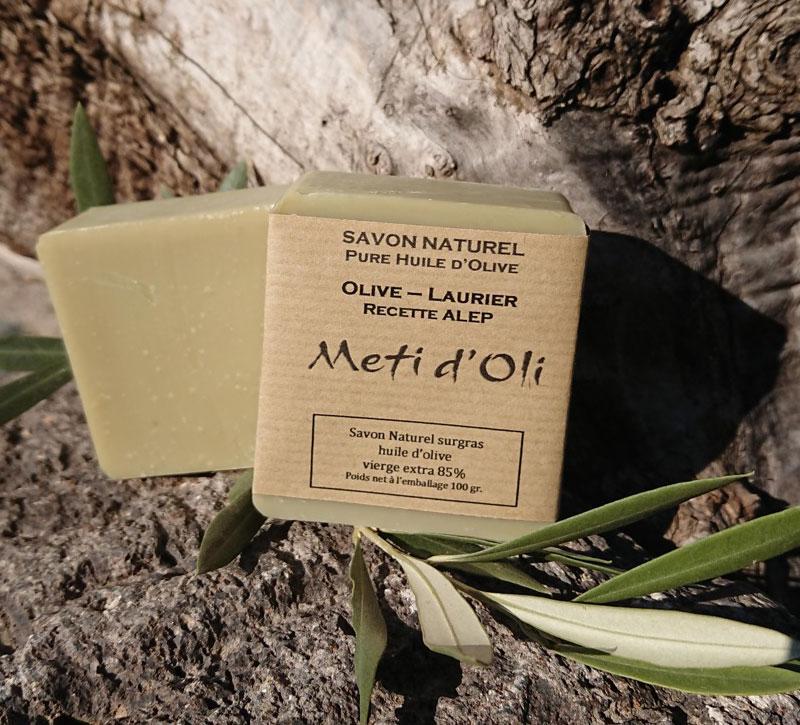 savon olive laurier alep